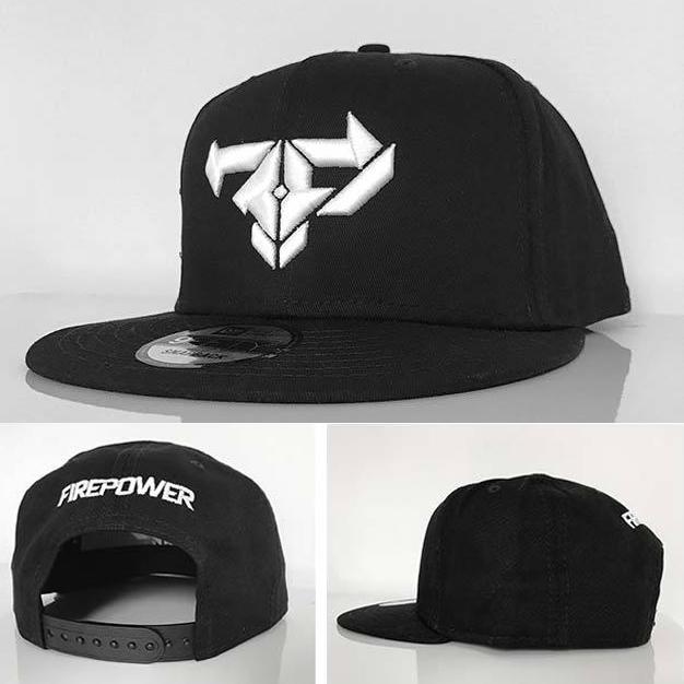 Firepower New Era Snapback Hat — Firepower Records 9b740571090