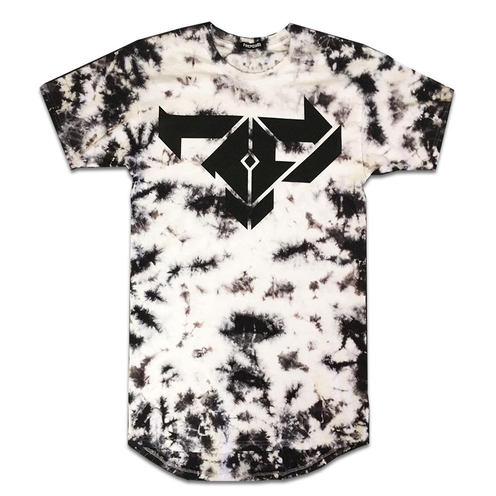 b6cceb42 NEW! Firepower Flower Pattern Black Tshirt — Firepower Records